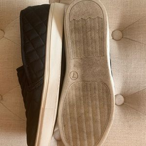 Mossimo Quilted Slip-on Sneaker-Black